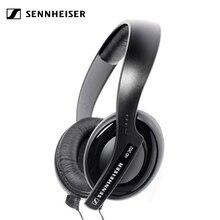 Original Sennheiser HD202 Deep Bass Headphones 3.5mm Wired Noise Isolation Stereo Earphone Gaming Headset Sennheiser Headphones
