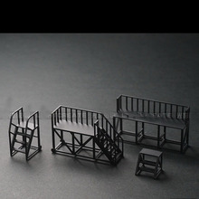 Maintenance Ladder Car-Model Scene-Parking-Lot for 1:64-Combined Garage-Accessories-Tool