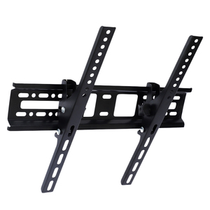 Monitor bracket Universal Lcd Led Tv Wall Bounted Brackets 30Kg Steel 15° Tilt Wall Mount For 32 46 42 50 55 inch Monitor(China)