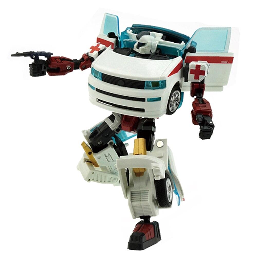 Ambulance Transformer Rescue Pioneer Alteration Simulation Car Robot Toy