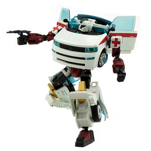 Image 1 - Ambulance Transformer Rescue Pioneer Alteration Simulation Car Robot Toy
