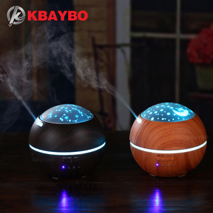 Image 1 - 150ml Hot Sale LEDLight Ultrasonic Air Humidifier Mist Maker Fogger Electric Aroma Diffuser Essential Oil Aromatherapy Household