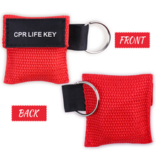 3 Pcs New CPR Resuscitator Mask CPR Face Shield Disposable Resuscitation Mask First Aid Emergency Rescue Health Tools 3 Color