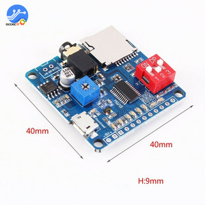 MP3 Player Module Mini Clip 5W