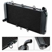 Motor de la motocicleta del refrigerador del radiador sistema de refrigeración para HONDA CB1300 CB 1300 2003-2008 04 05 06 07 negro