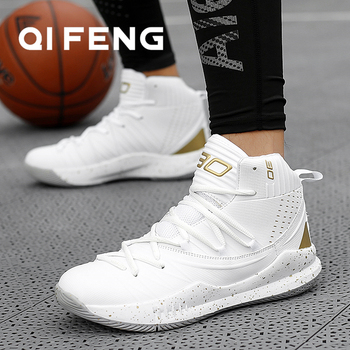 High Quality Basketball Shoes Men Sneakers Boys Basket Shoes Autumn High Top Anti-slip Outdoor Sports Shoes Trainer Women Summer 1