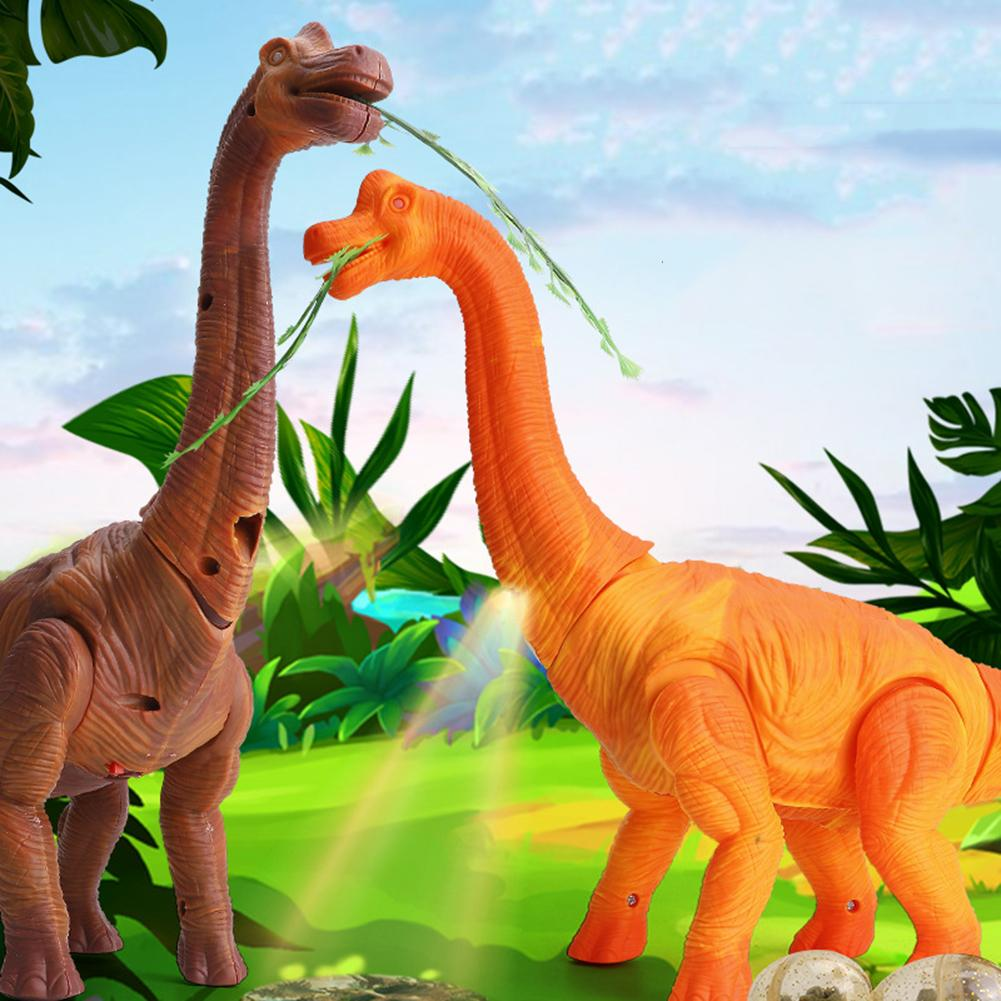 Electronic Egg Laying Walking <font><b>Dinosaur</b></font> Projection Moving Tail Model <font><b>Kid</b></font> <font><b>Toy</b></font> Gift New image