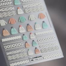 5D НОВЫЙ Крафт Мягкий рельефный виниловые наклейки на стену с рисунком