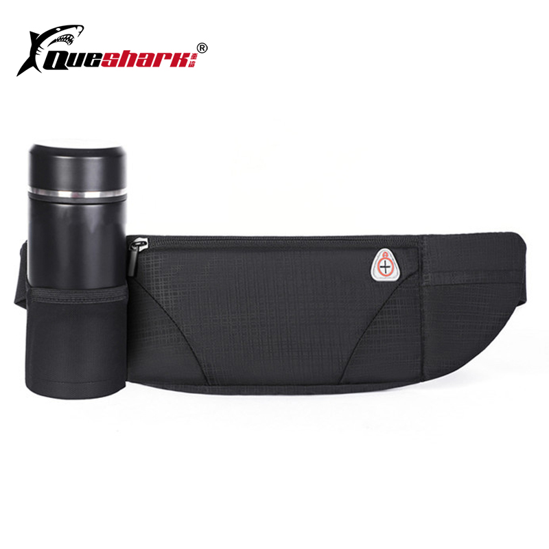 Water Repellent Sport Waist Bag Multi-use Cycling Running 7'' Phone Bag Jogging Hiking Waist Pack With Water Bottle Holder