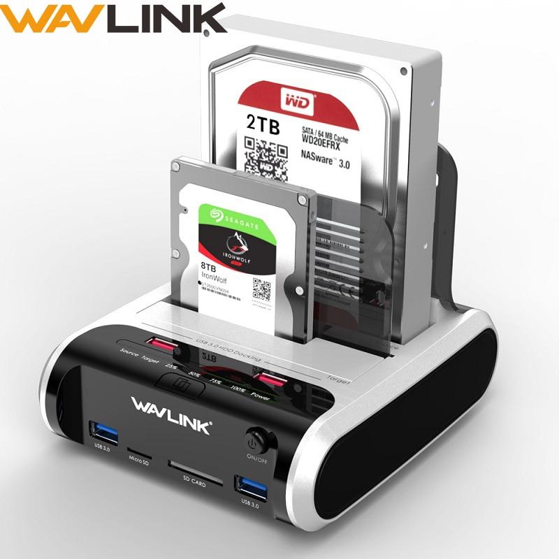 Multifunctional HDD Dock Support 2.5 /& 3.5 inches IDE/&SATA//e-SATA//USB interface//2-port USB HUB//Card Reader//