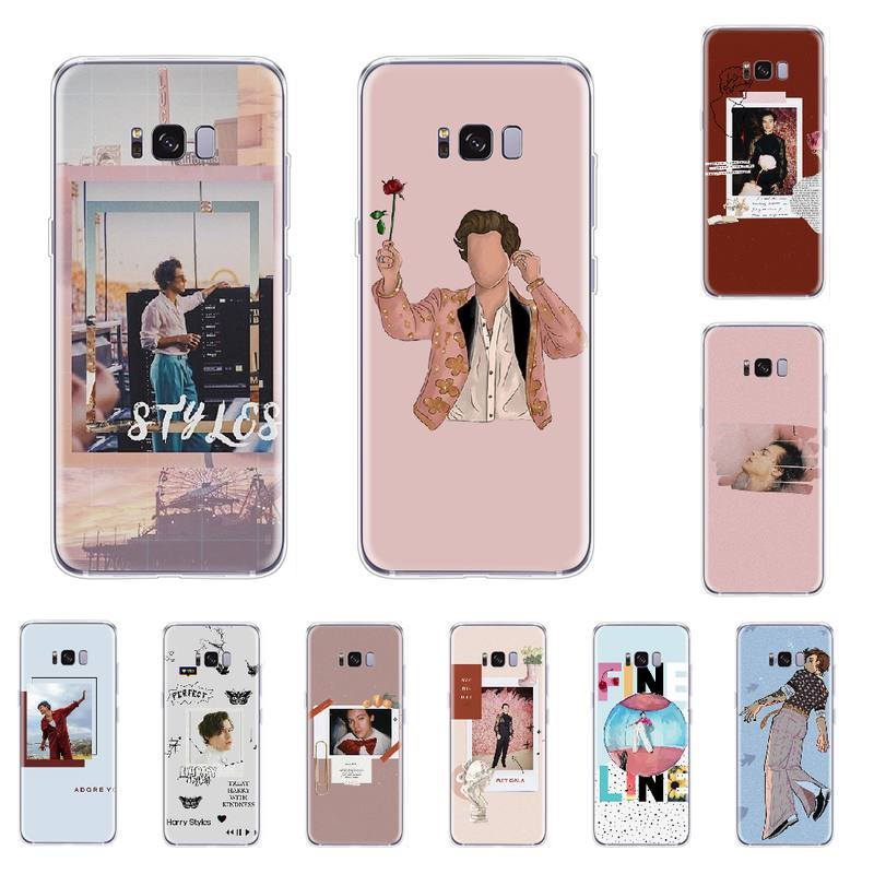 <font><b>Harry</b></font> <font><b>Styles</b></font> concert TPU Soft <font><b>Phone</b></font> <font><b>Case</b></font> Cover For <font><b>Samsung</b></font> <font><b>S5</b></font> S6 S7 S8 S9 S10 e S20 Ultra edge plus lite image
