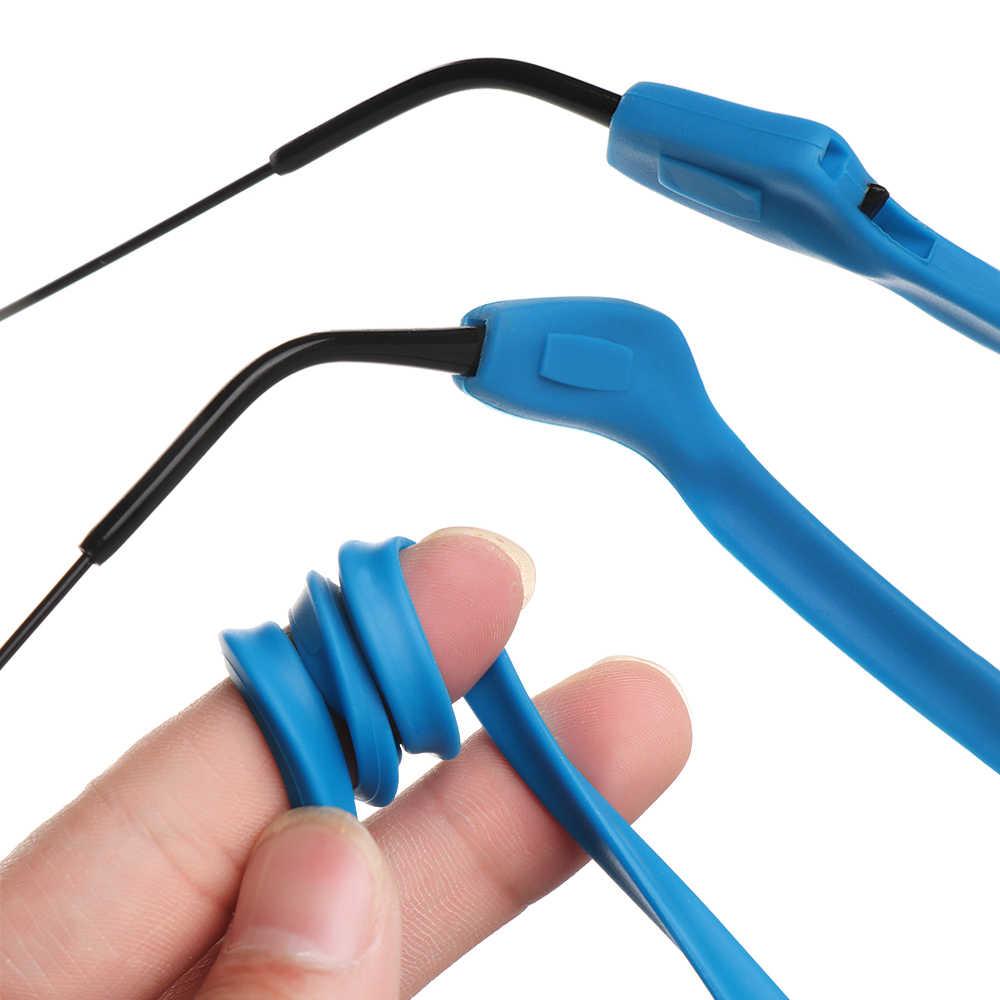 1 Pza Cadena de gafas de silicona deporte buceo Correa impermeable gafas deportivas gafas de sol soporte de cordón niños adultos accesorios de gafas
