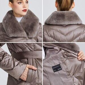 Image 5 - MIEGOFCE 2020 New Collection 여성 자켓 토끼 칼라 여성 겨울 코트 비정상적인 색상 방풍 겨울 파카
