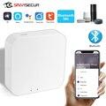Беспроводной пульт управления Tuya, хаб для умного дома с поддержкой Bluetooth 5,0, Wi-Fi, работает с приложением