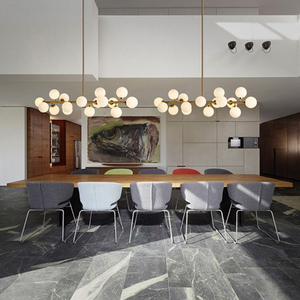 Image 5 - Mordern Led תליון אורות מטבח אוכל חדר נורדי תעשייתי תליון מנורת בר קפה Luminaire תליית גופי תאורה