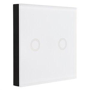Image 5 - CLAITE 433MHz 1 2 3 canaux télécommande commutateur 86 mur tactile sans fil RF émetteur trempé apprentissage panneau de verre pour la maison