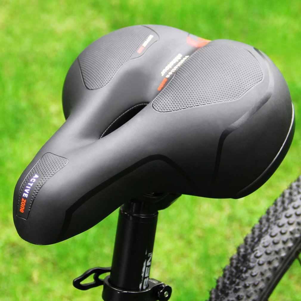 Siège de vélo grande selle de selle de vélo siège de VTT accessoires de vélo selle de ressort d'amortisseur