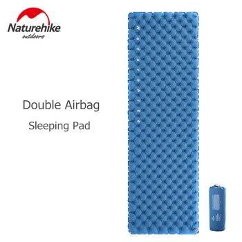 Naturehike Sleeping Pad Ultralight Compact Inflatable Mattress Lightweight Outdoor Camping Mat Backpacking Traveling Mattress