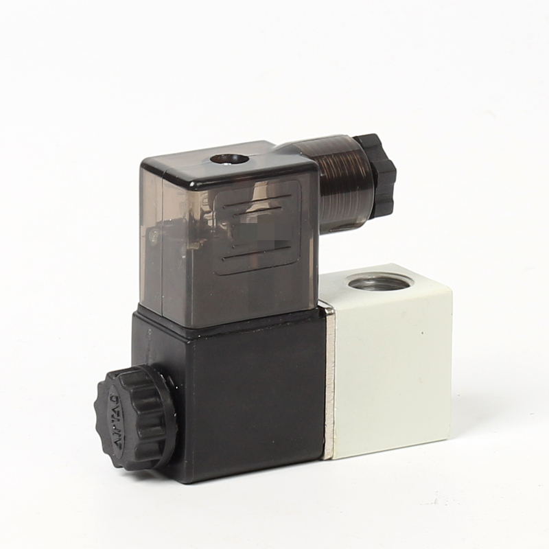 2-Way 2-Position 2P025-08 DC24V PT 1//4 Threaded Plastic Electric Solenoid Valve for Driven Pneumatic Power Control