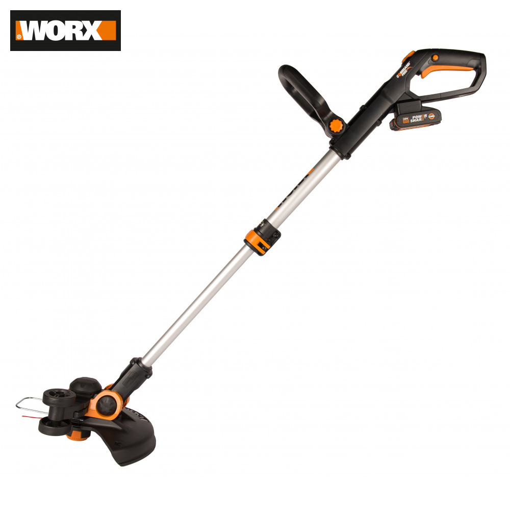 Grass Trimmer WORX WG163E.2 Garden Power Tools Battery A Haircut Trimmers Cutting Rechargeable