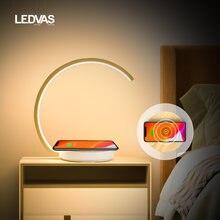 Ledvas настольная лампа 12 Вт с сенсорным управлением светильник