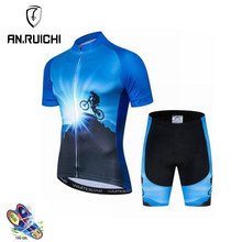 Aonuo New Cycling Clothing Men Pro Team Bike Clothing Breathable Cycling Jersey Sets Road Bicycle Wear Maillot cycliste MTB bike