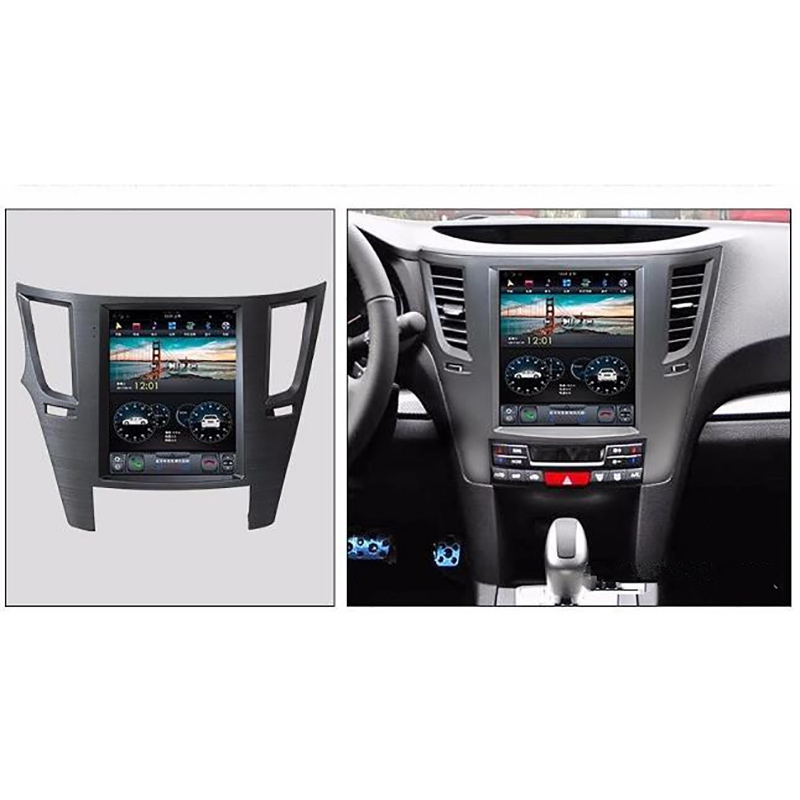 Chogath 10.4inch Car Multimedia Player Android 7.1 Car Gps Navigation 2+32G Tesla Screen For Subaru Legacy Outback 2009-2014