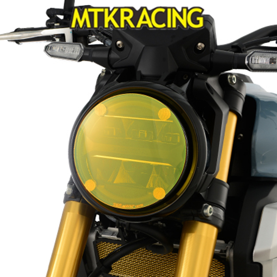 MTKRACING For Benelli Leoncino 500 Housing Motorcycle Headlight Headlamp Fairing Cover Case Protection