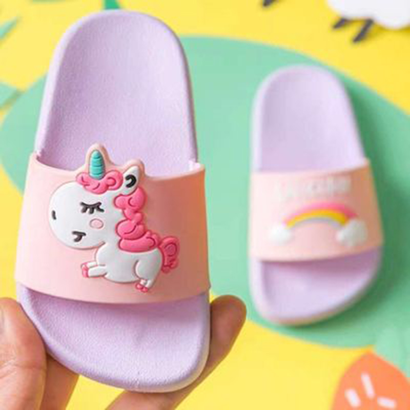 Unicorn Rainbow Slippers 2