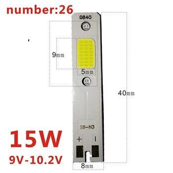 цена на 20PCS C6 H4 LED H7 H11 H8 HB4 H1 H3 9005 HB3 Auto S2 Car Headlight Bulbs 72W 8000LM Car Accessories 6500K   led fog light