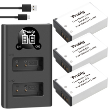1800mAh LPE17 LP E17 LP E17 بطارية + LED USB شاحن مزدوج لكانون EOS 200D M3 M6 750D 760D T6i T6s 800D 8000D قبلة X8i كاميرات