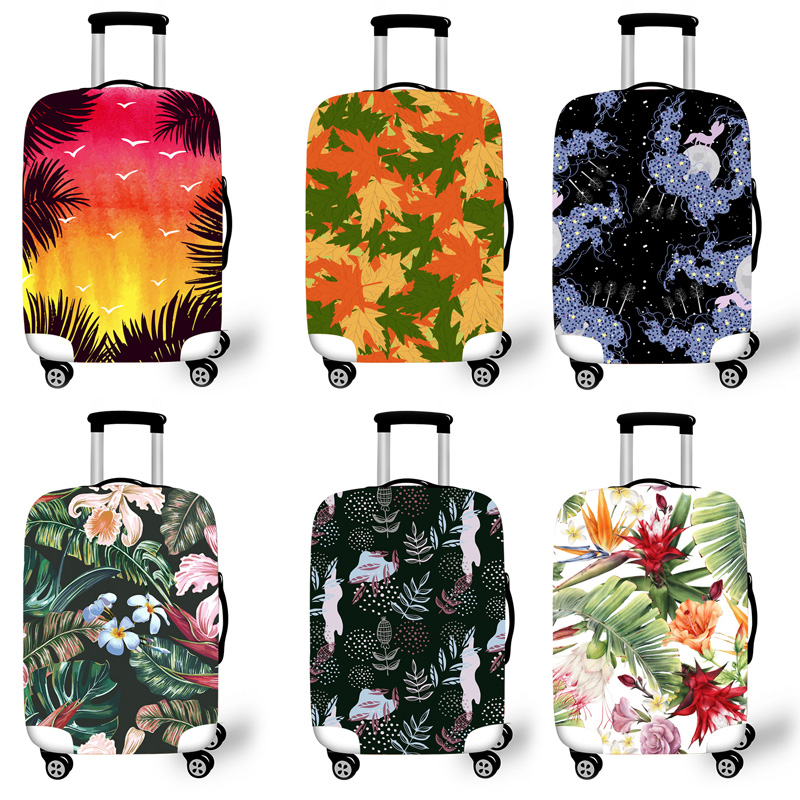 Elastic Luggage Protective Cover Case For Suitcase Protective Cover Trolley Cases Covers 3D Travel Accessories Patter Pattern T1