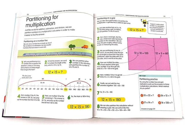 How to be Good at Maths The Simplest-ever Visual Guide Book 1