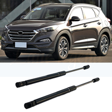 Car Bonnet Engine Cover Gas Spring Shock Lift Strut Bars Support Rod For Hyundai Tucson 2015 2016 2017 2018 2019 3TH Car-styling gas spring free shipping car auto 90kg 900n force ball studs lift strut metal gas spring 900mm 400mm