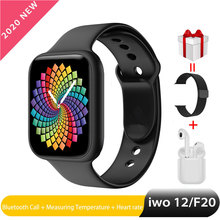 Iwo F20 Pro Smart Watch Women Man Bluetooth Call Watch 44mm for Android IOS Hear