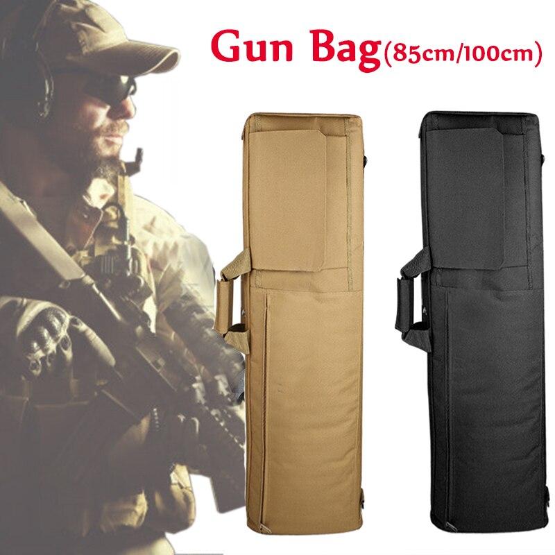 85cm / 100cm Military Tactical Gun Bag Hunting Rifle Gun Carry Bag Airsoft Rifle Case Hunting Bags Sniper Gun Protective Case