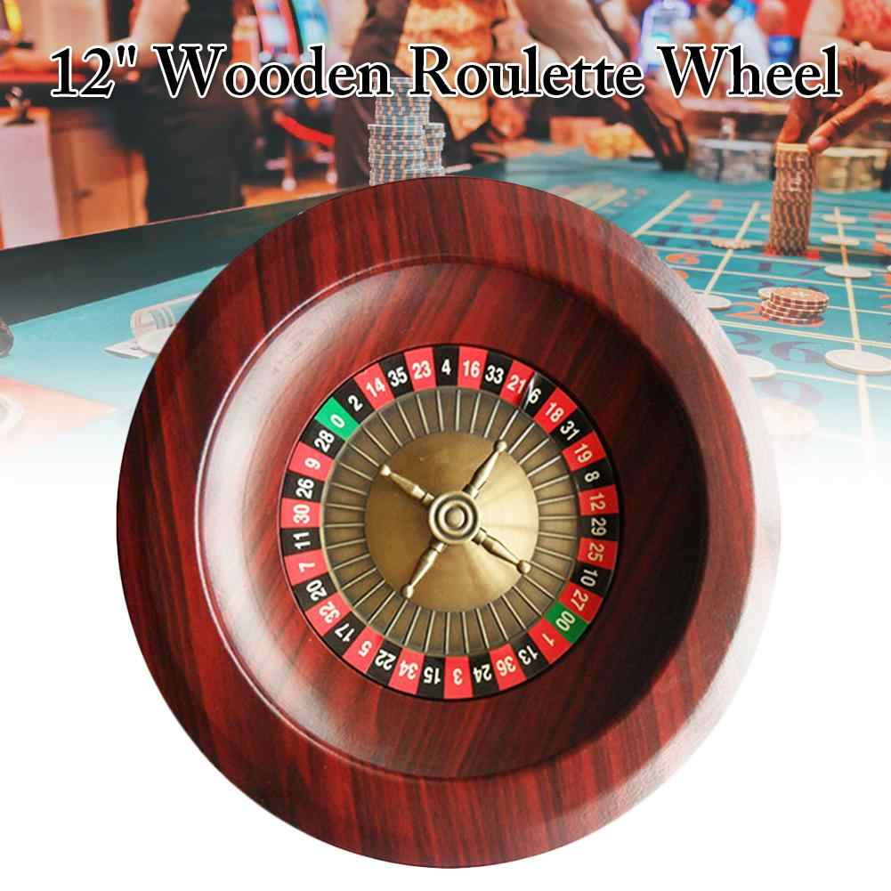 Wooden Roulette Wheel Board Deck Game Family Friends Party Leisure Entertainment Table Game Board Games Aliexpress