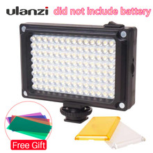 Ulanzi New 112 LED Dimmable Video Light Lamp Rechargeable Panel Light BP 4L Battery for DSLR Camera Videolight Wedding Recording