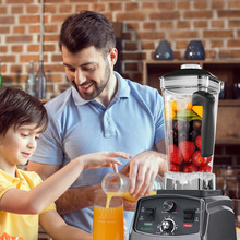 2L Jar Juicer Mixer Timer-Blender Food-Processor Fruit Commercial-Grade Ice-Smoothies
