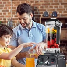 Mixer Juicer Jar Timer-Blender Food-Processor Fruit Commercial-Grade Ice-Smoothies Heavy-Duty