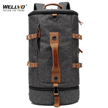 50L Military Tactical Backpack Camping Bags Mountaineering Bag Men's Hiking Rucksack Travel Backpacks Bucket mochila XA638ZC 3p 50l tactical military army outdoor bag women men camping backpacks hiking sports molle pack climbing backpack oxford rucksack