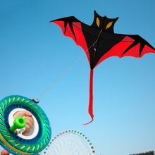 Kites Flying-Toys Cool Outdoor Simulation Kids Children Bat for Gift 61inch