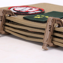 Hanging-Board Cloth Metal Armband A-Book Can-Binding-Into Velcro Sticky Multifunctional