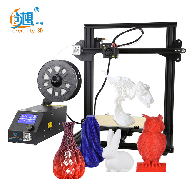 CR 10 DIY 3D Printer Self assemble Printing Mini High precision  Supports for Continuation Print of Power Failure
