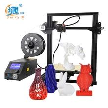 CR 10 Mini impresora 3D de alta precisión, dispositivo de impresión en 3D, automontaje, compatible con la impresión continua de fallos eléctricos
