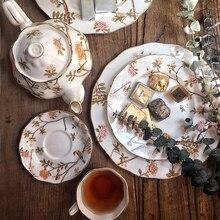 Cup-Set Porcelain Teapot Coffee-Cup Afternoon Sugar-Bowl Tea-Bone China British Wedding-Gifts
