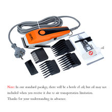 220V Professional Hair Clippers Corded Barber Steel Cutter Head Hair Trimmer Clipper Salon Tools Hair Cutting Machine Haircut lili professional balding clipper for barbers and stylists cuts full head balding cutting machine super motor hair salon clipper