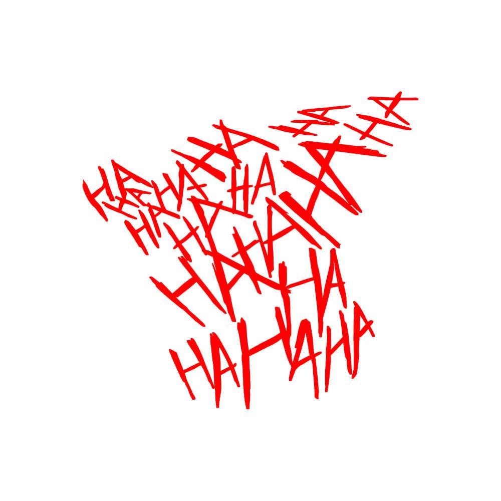 Joker Hahaha çıkartmaları etiketler, İntihar kadro kötü BATMAN QUINN çizgi roman pencere 12.5cm
