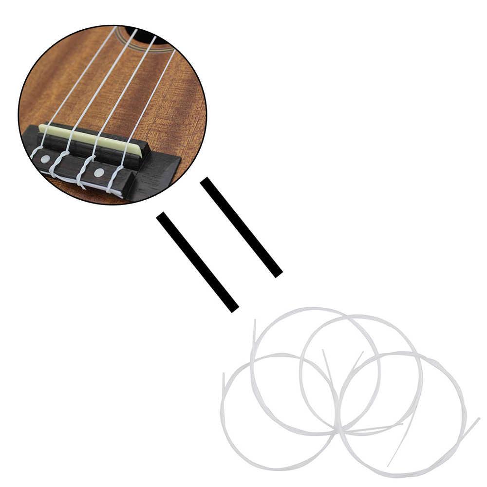 Ensemble de cordes en Nylon, 4 pièces/ensemble Soprano Ukulele Ukelele, accessoire pour instruments, pièce de rechange