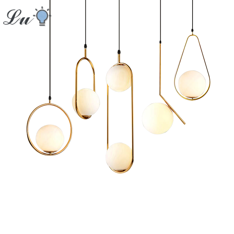 LED Pendant Lights Vintage Style Loft Light Metal Hanging Lamp Nordic Modern For Living Room kitchen Restaurant Lighting Fixture